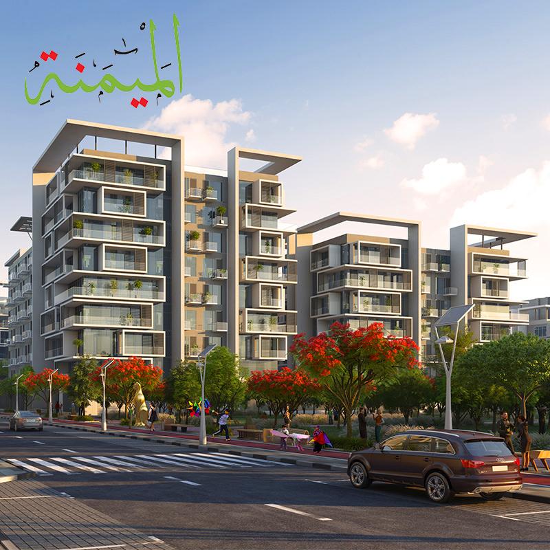 للبيع شقة غرفه و صاله في مشروع عزيزي مشروع حدائق محمد بن راشد